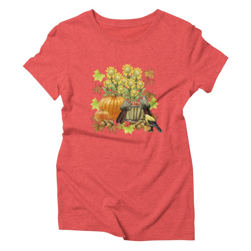 Harvest Women's Triblend T-Shirt by psweetsdesign's Artist Shop