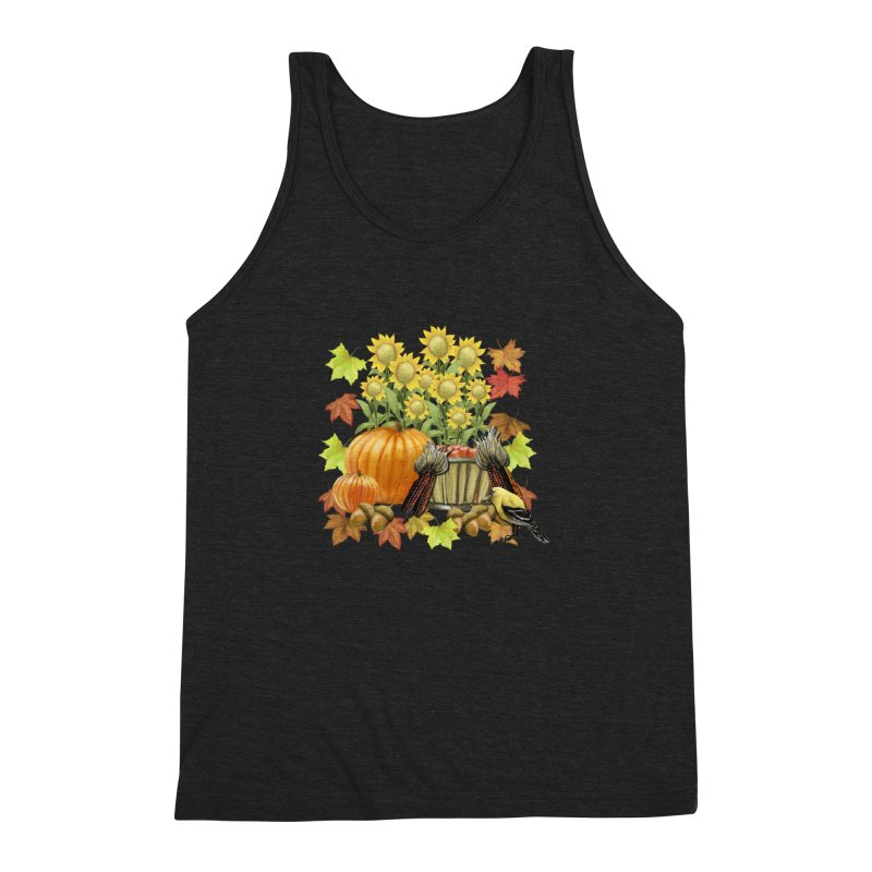 Harvest Men's Triblend Tank by psweetsdesign's Artist Shop