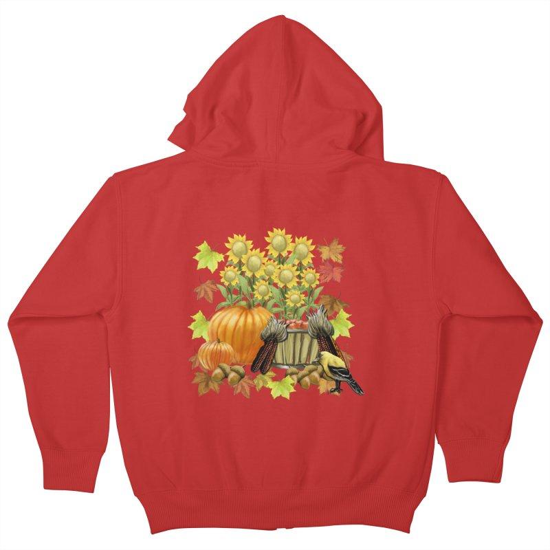Harvest Kids Zip-Up Hoody by psweetsdesign's Artist Shop