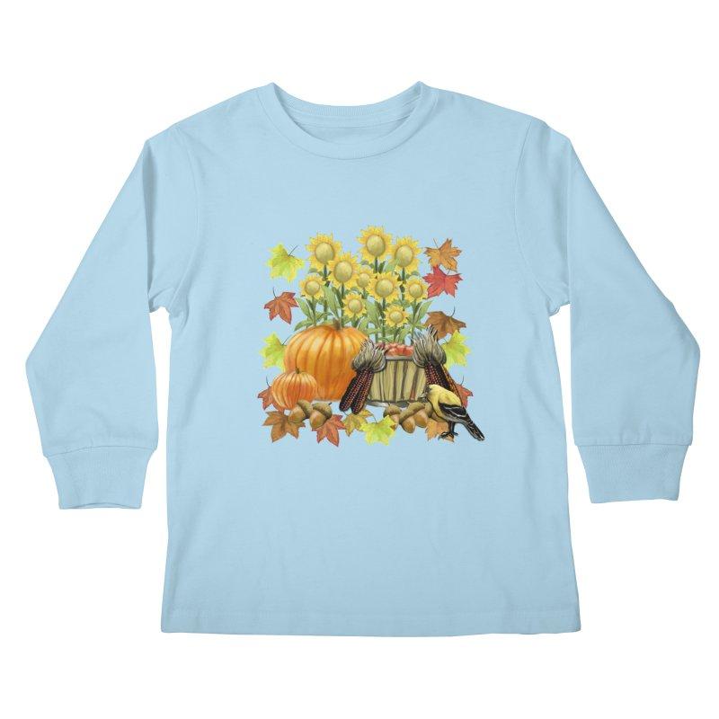 Harvest Kids Longsleeve T-Shirt by psweetsdesign's Artist Shop