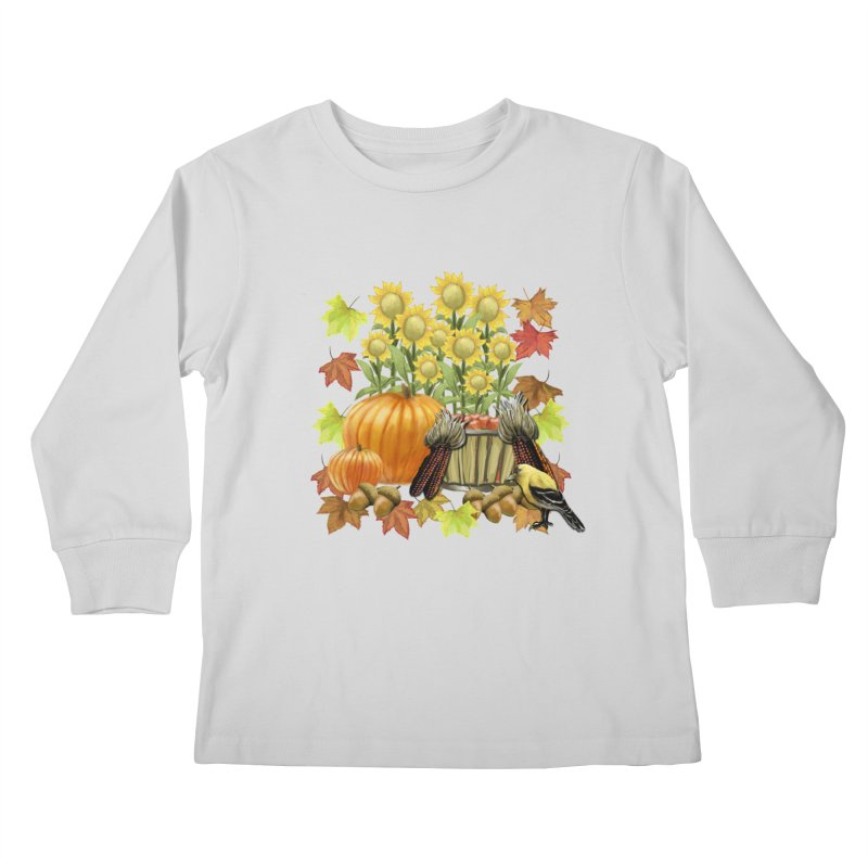 Harvest Kids Longsleeve T-Shirt by psweetsdesign's Artist Shop
