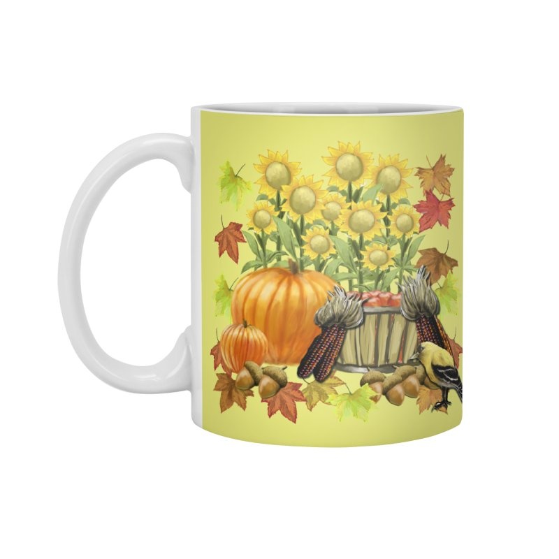 Harvest Accessories Mug by psweetsdesign's Artist Shop