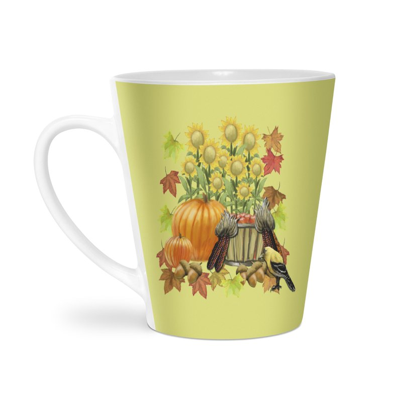 Harvest Accessories Latte Mug by psweetsdesign's Artist Shop