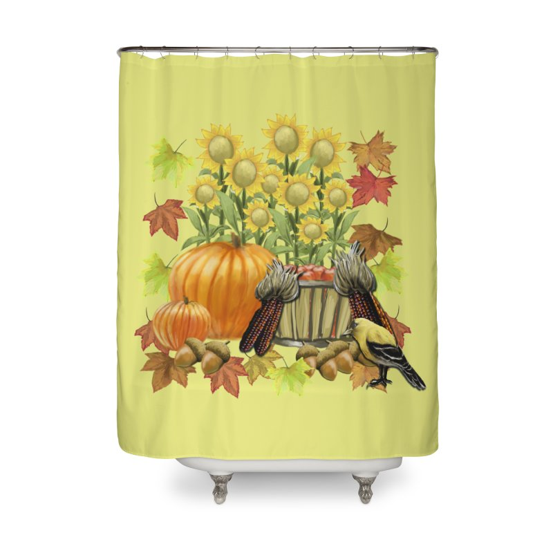 Harvest Home Shower Curtain by psweetsdesign's Artist Shop