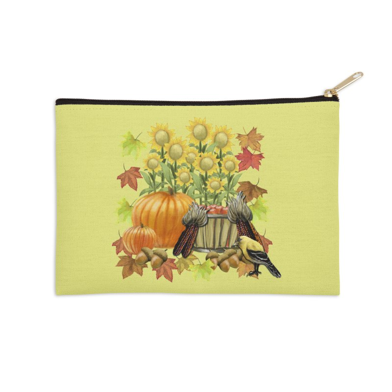 Harvest Accessories Zip Pouch by psweetsdesign's Artist Shop