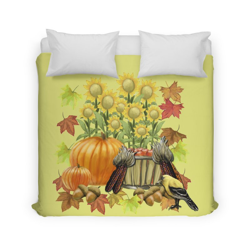 Harvest Home Duvet by psweetsdesign's Artist Shop
