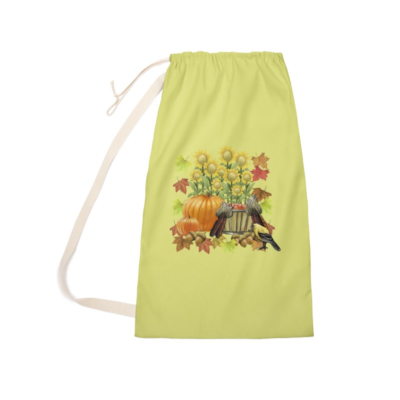 Harvest Accessories Laundry Bag Bag by psweetsdesign's Artist Shop
