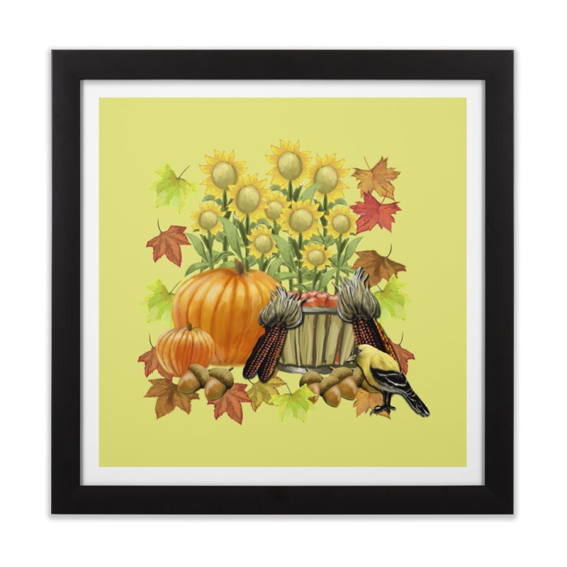 Harvest Home Framed Fine Art Print by psweetsdesign's Artist Shop