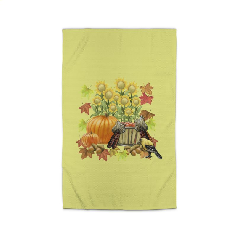 Harvest Home Rug by psweetsdesign's Artist Shop