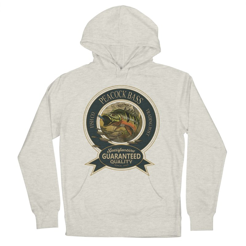 Peacock Bass Women's French Terry Pullover Hoody by psweetsdesign's Artist Shop