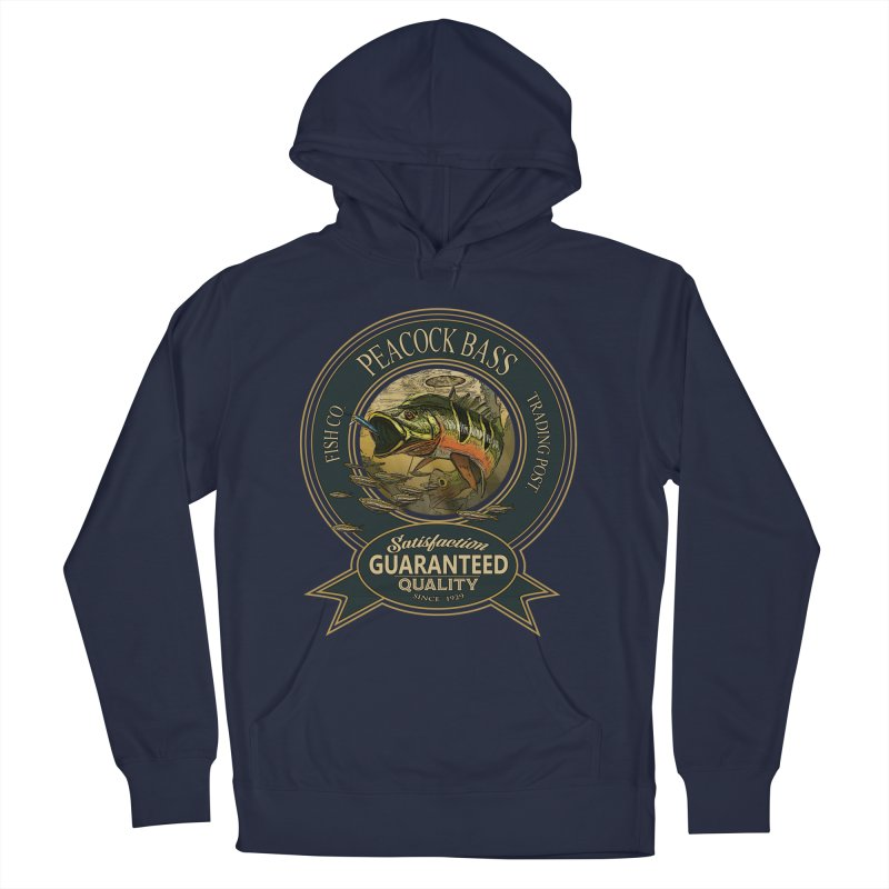 Peacock Bass Women's Pullover Hoody by psweetsdesign's Artist Shop