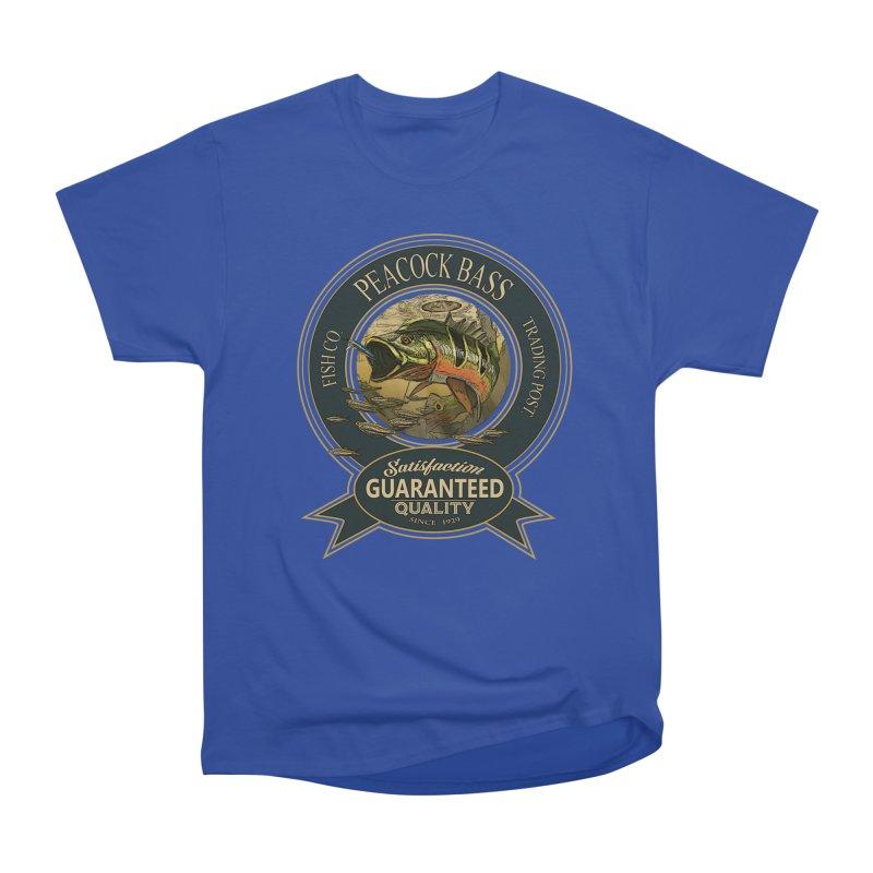 Peacock Bass Men's Heavyweight T-Shirt by psweetsdesign's Artist Shop
