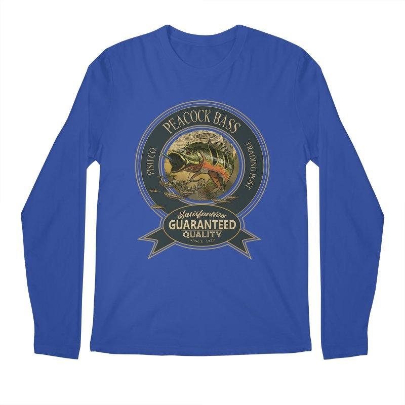 Peacock Bass Men's Longsleeve T-Shirt by psweetsdesign's Artist Shop