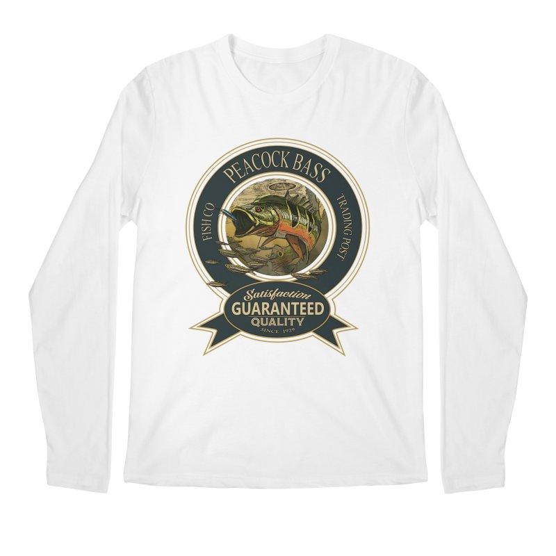 Peacock Bass Men's Regular Longsleeve T-Shirt by psweetsdesign's Artist Shop