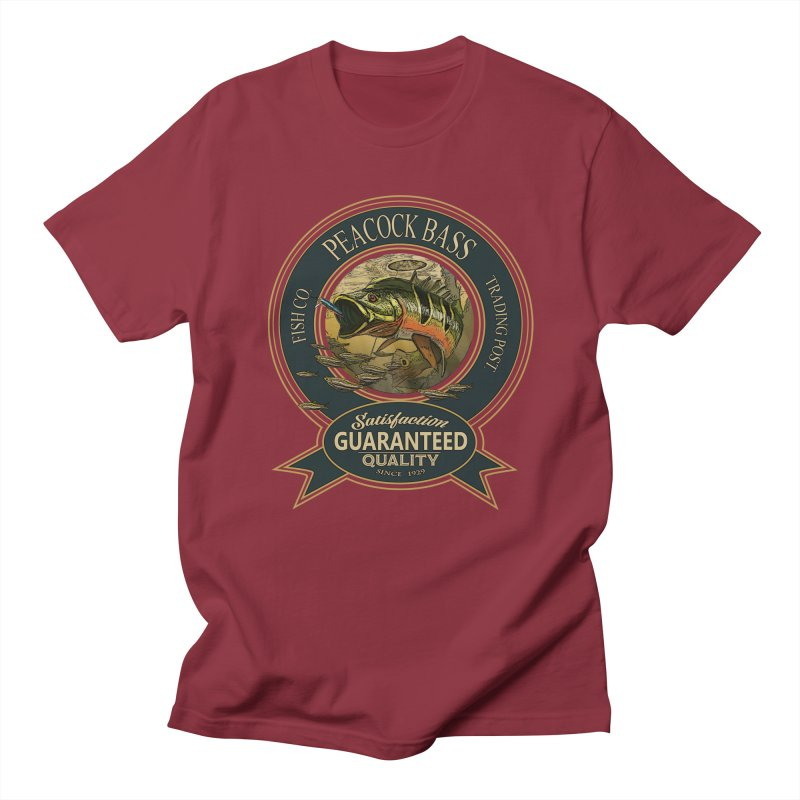 Peacock Bass Men's T-Shirt by psweetsdesign's Artist Shop