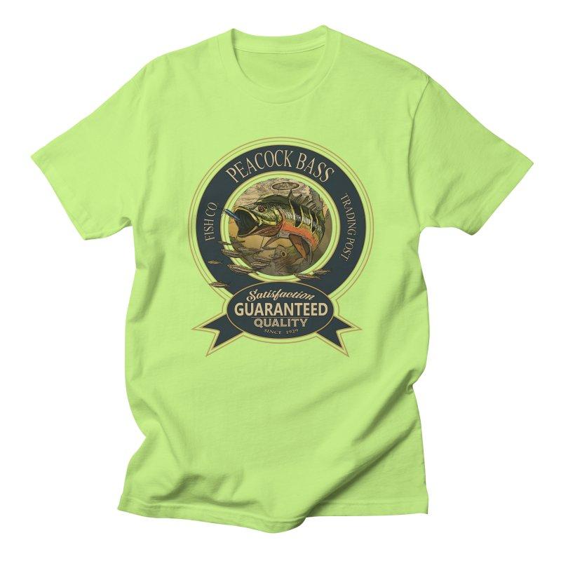 Peacock Bass Women's Regular Unisex T-Shirt by psweetsdesign's Artist Shop