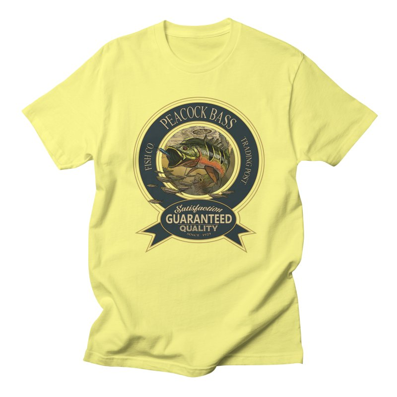 Peacock Bass Women's Unisex T-Shirt by psweetsdesign's Artist Shop