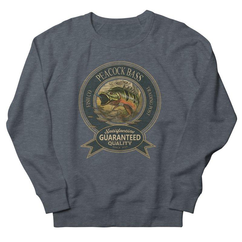 Peacock Bass Men's Sweatshirt by psweetsdesign's Artist Shop