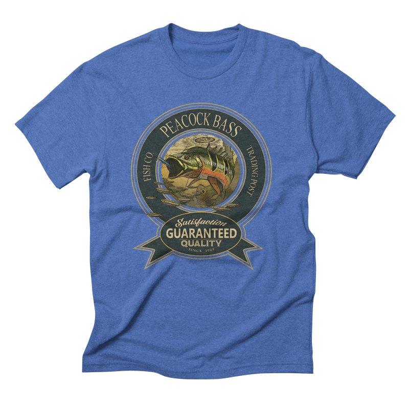 Peacock Bass Men's Triblend T-Shirt by psweetsdesign's Artist Shop