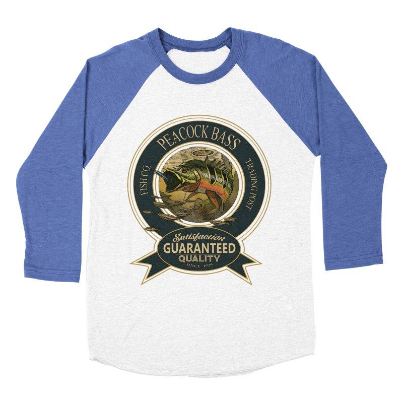 Peacock Bass Women's Baseball Triblend T-Shirt by psweetsdesign's Artist Shop