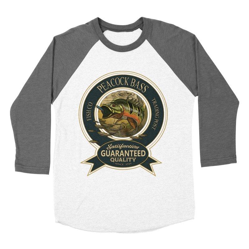 Peacock Bass Men's Baseball Triblend Longsleeve T-Shirt by psweetsdesign's Artist Shop