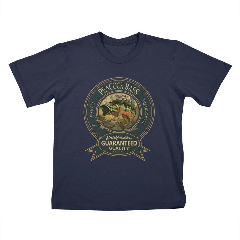 Peacock Bass Kids T-Shirt by psweetsdesign's Artist Shop
