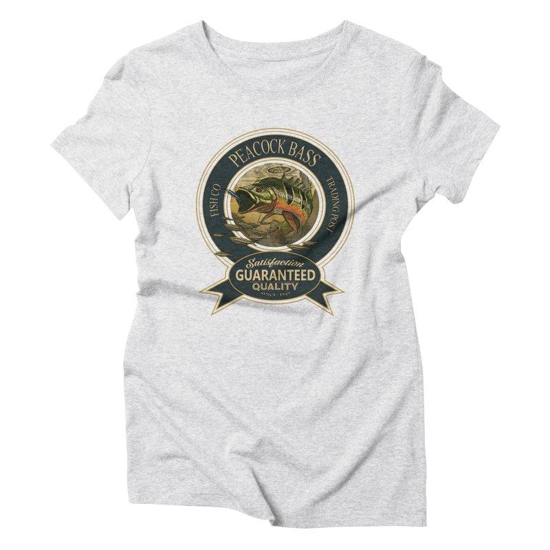 Peacock Bass Women's Triblend T-Shirt by psweetsdesign's Artist Shop
