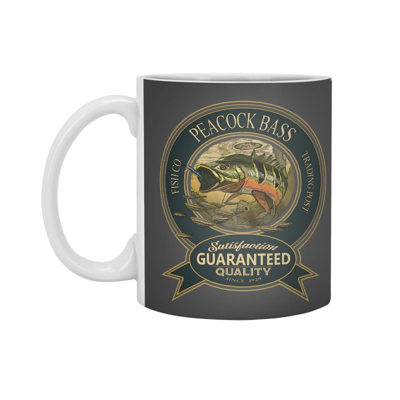 Peacock Bass Accessories Mug by psweetsdesign's Artist Shop