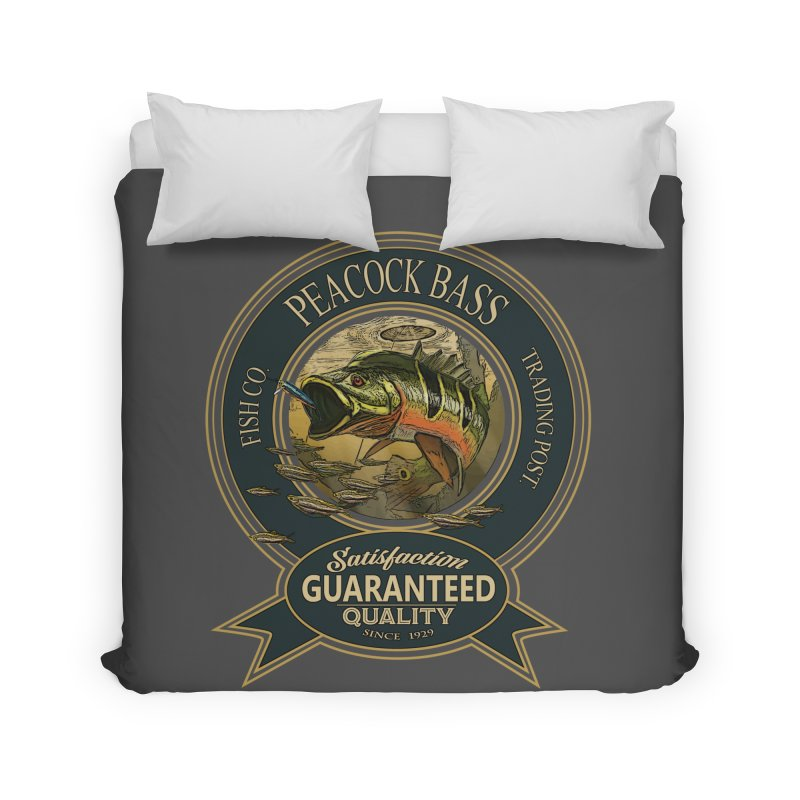 Peacock Bass Home Duvet by psweetsdesign's Artist Shop