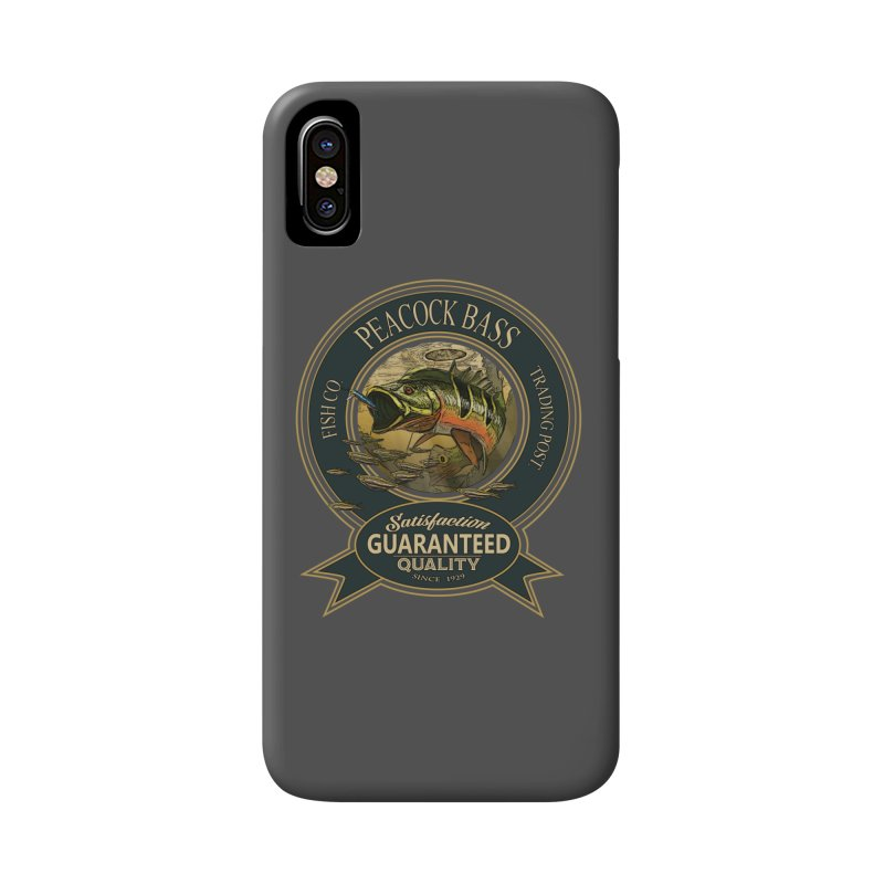 Peacock Bass Accessories Phone Case by psweetsdesign's Artist Shop