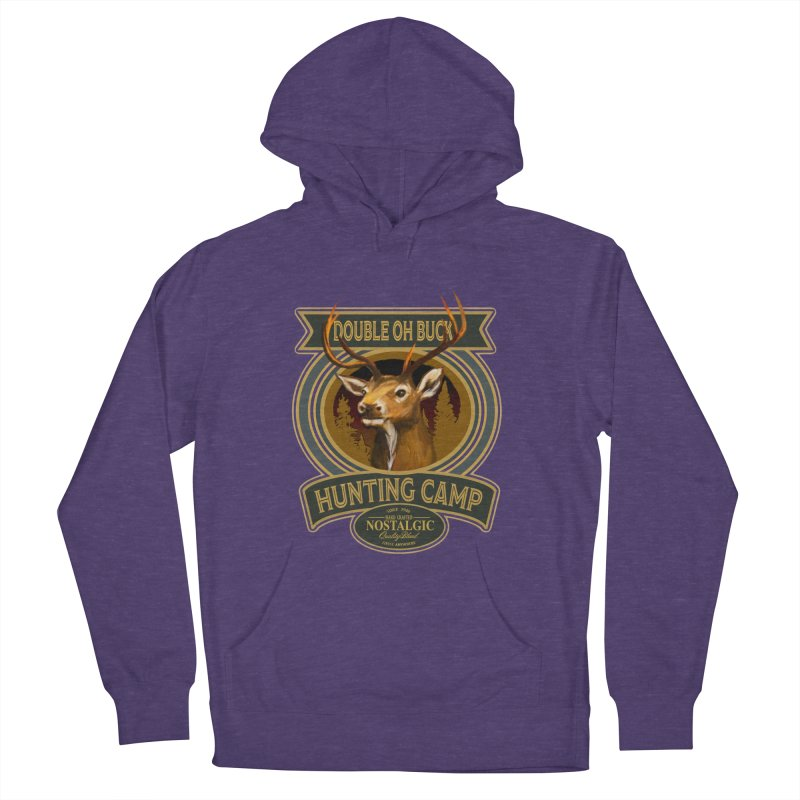 Double Oh Buck Women's French Terry Pullover Hoody by psweetsdesign's Artist Shop