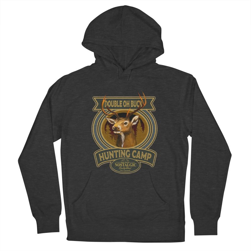 Double Oh Buck Men's Pullover Hoody by psweetsdesign's Artist Shop