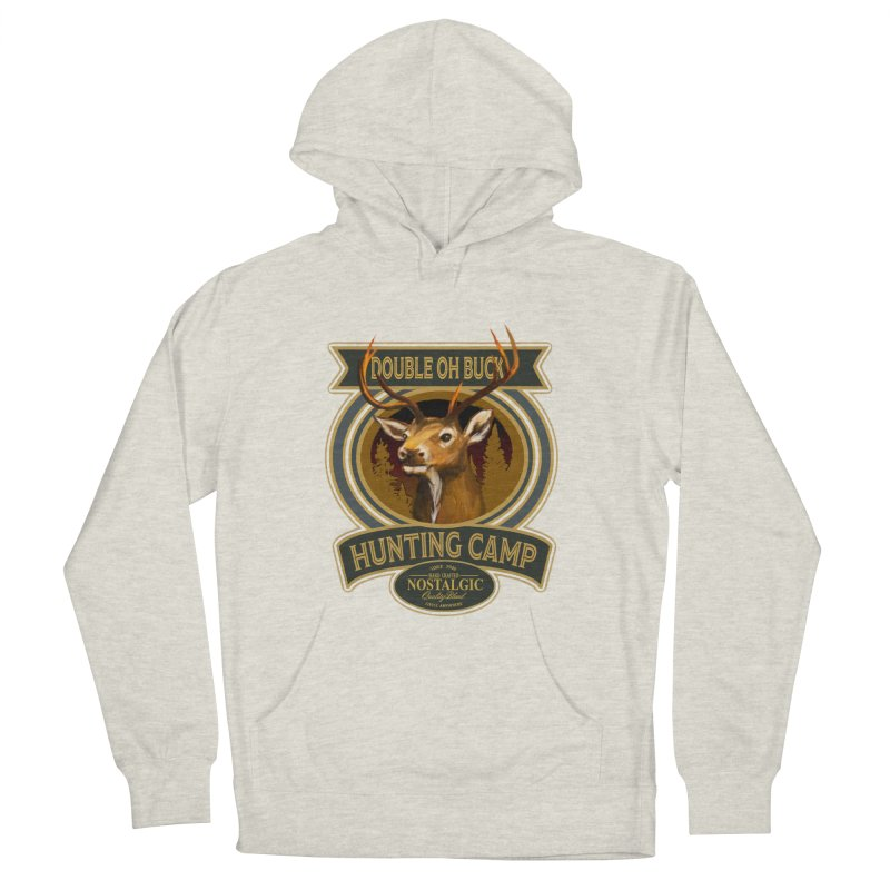 Double Oh Buck Men's French Terry Pullover Hoody by psweetsdesign's Artist Shop