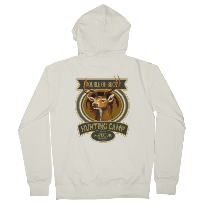 Double Oh Buck Women's French Terry Zip-Up Hoody by psweetsdesign's Artist Shop