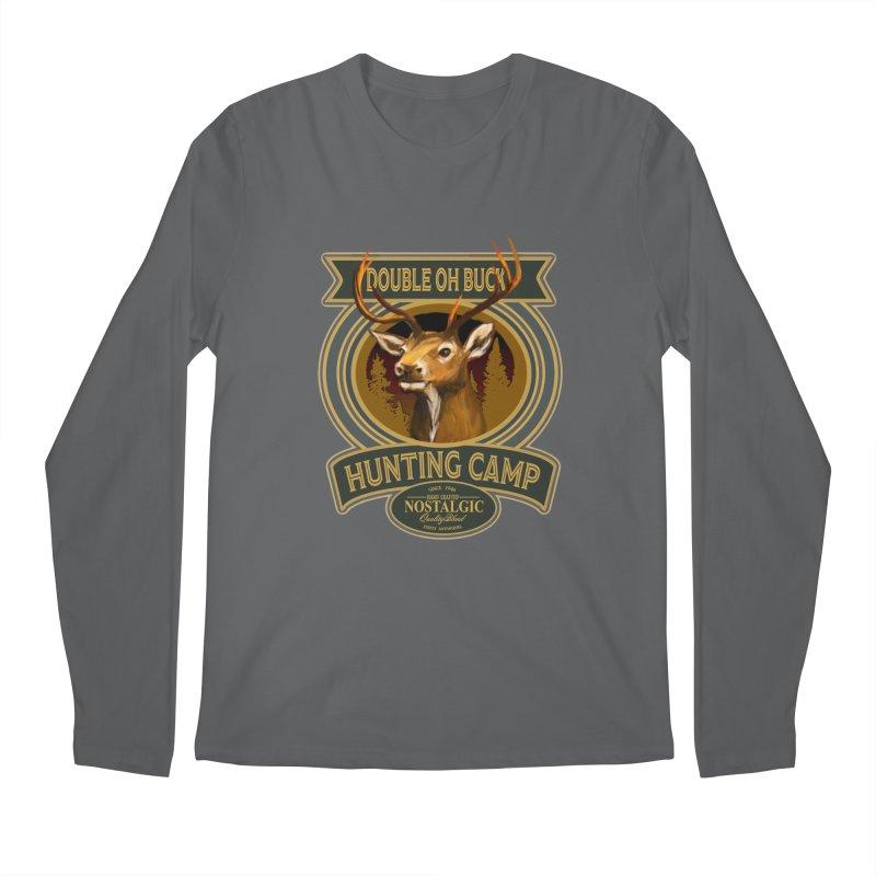 Double Oh Buck Men's Longsleeve T-Shirt by psweetsdesign's Artist Shop