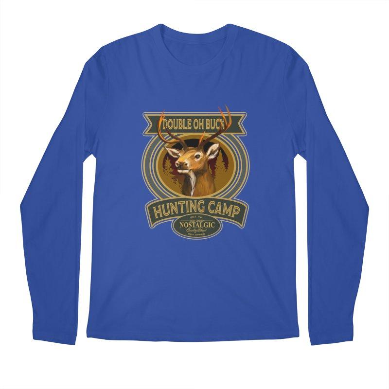 Double Oh Buck Men's Regular Longsleeve T-Shirt by psweetsdesign's Artist Shop