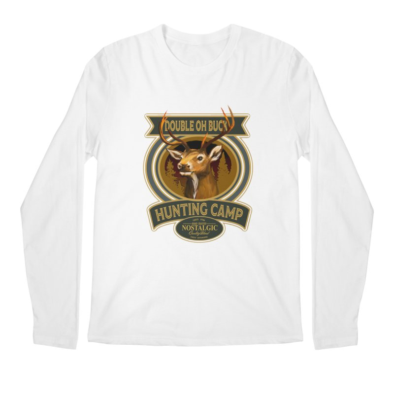 Double Oh Buck Men's Longsleeve T-Shirt by psweetsdesign's Artist Shop