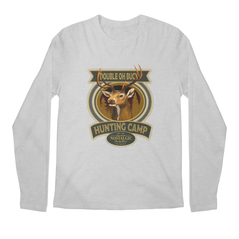 Double Oh Buck Men's Regular Longsleeve T-Shirt by psweetsdesign's Artist Shop