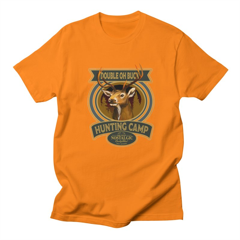 Double Oh Buck Men's T-Shirt by psweetsdesign's Artist Shop