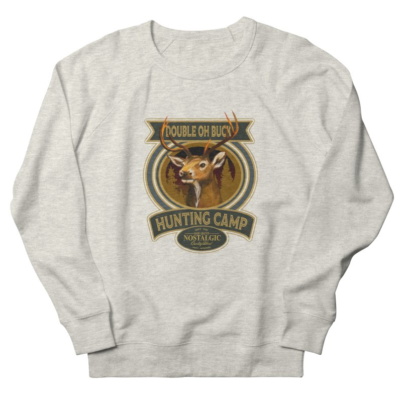 Double Oh Buck Women's French Terry Sweatshirt by psweetsdesign's Artist Shop