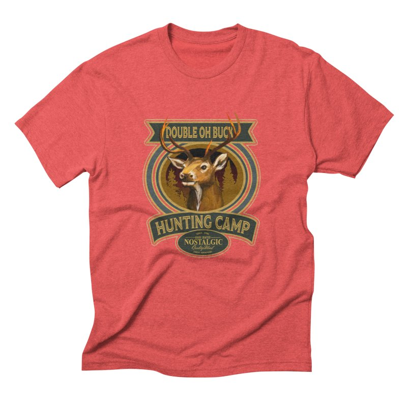 Double Oh Buck Men's Triblend T-Shirt by psweetsdesign's Artist Shop