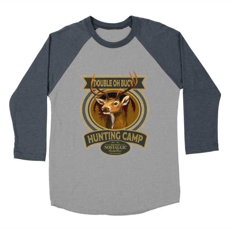 Double Oh Buck Women's Baseball Triblend Longsleeve T-Shirt by psweetsdesign's Artist Shop
