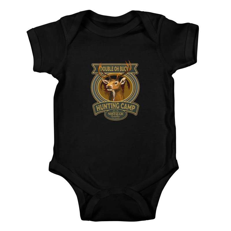 Double Oh Buck Kids Baby Bodysuit by psweetsdesign's Artist Shop