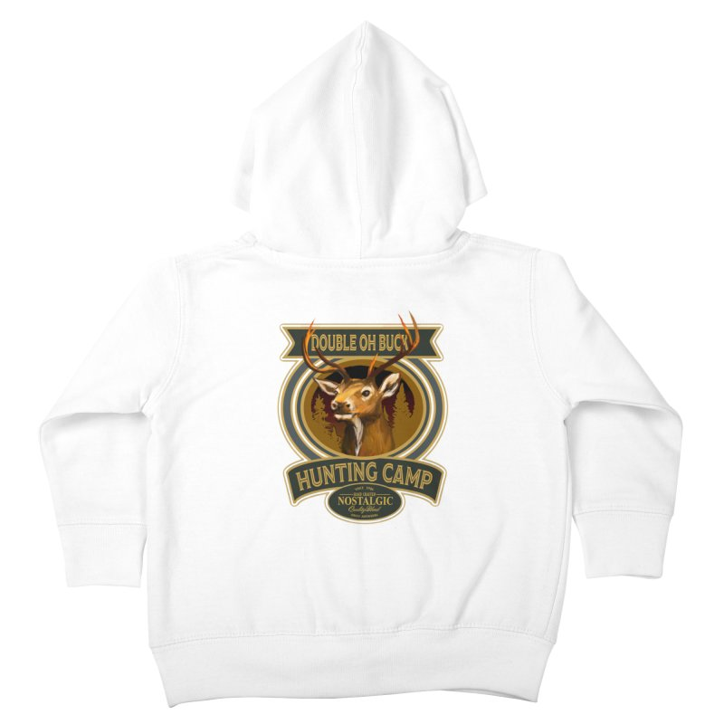 Double Oh Buck Kids Toddler Zip-Up Hoody by psweetsdesign's Artist Shop