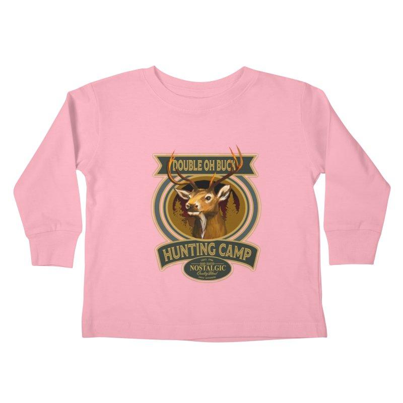 Double Oh Buck Kids Toddler Longsleeve T-Shirt by psweetsdesign's Artist Shop