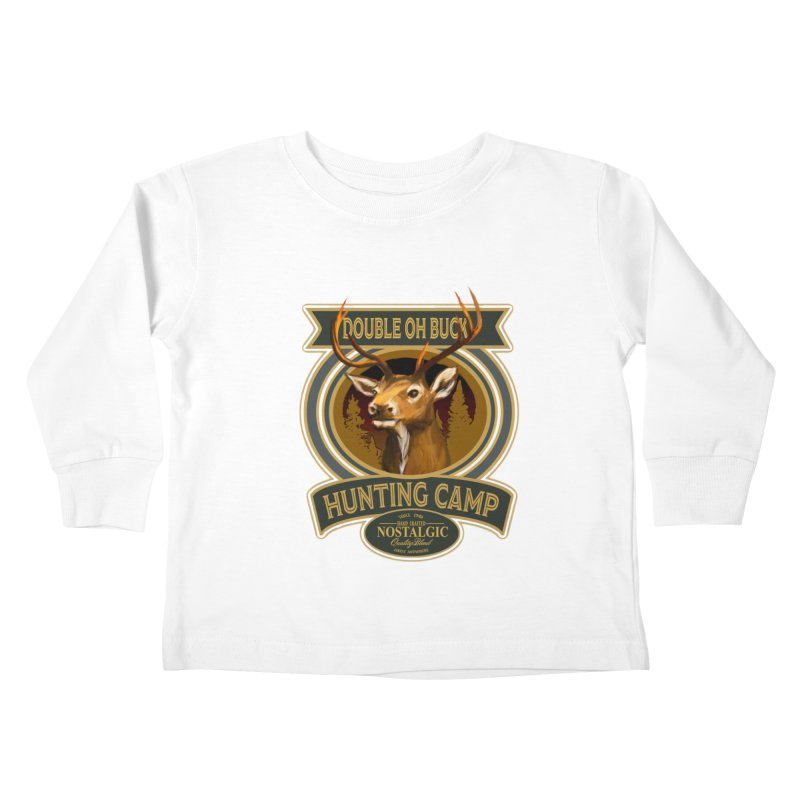 Double Oh Buck Kids Toddler Longsleeve T-Shirt by psweetsdesign's Artist Shop