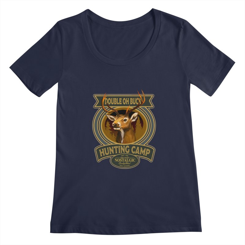 Double Oh Buck Women's Scoopneck by psweetsdesign's Artist Shop