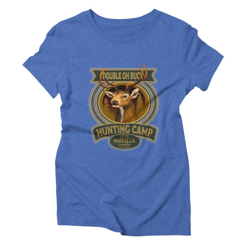 Double Oh Buck Women's Triblend T-Shirt by psweetsdesign's Artist Shop