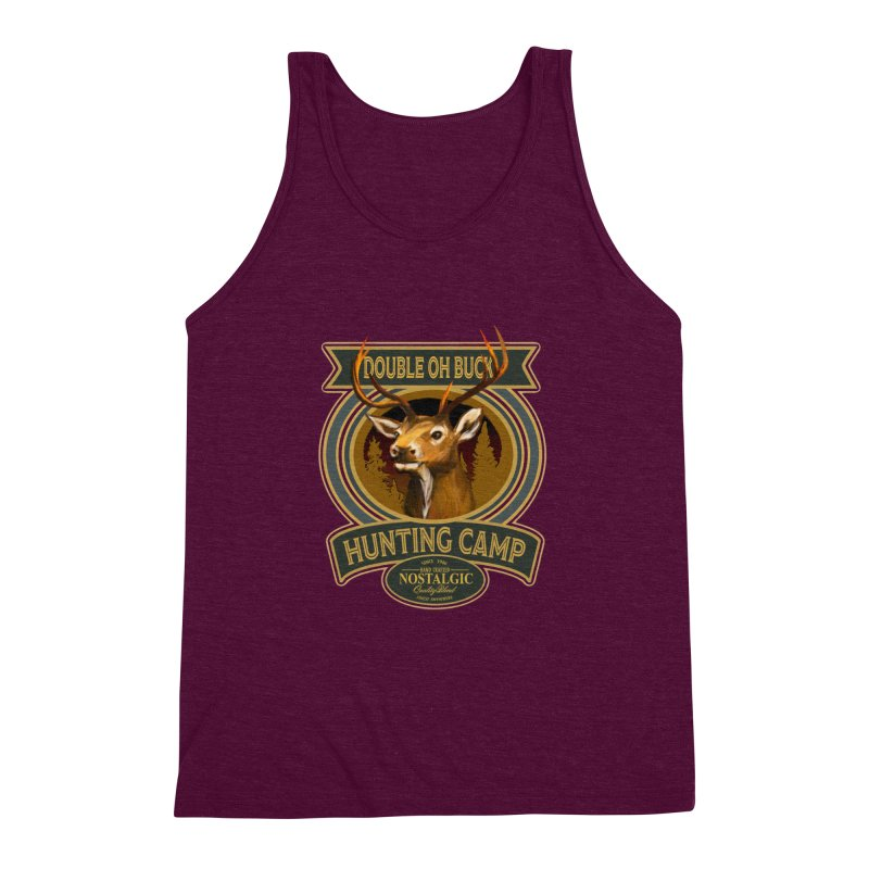Double Oh Buck Men's Triblend Tank by psweetsdesign's Artist Shop