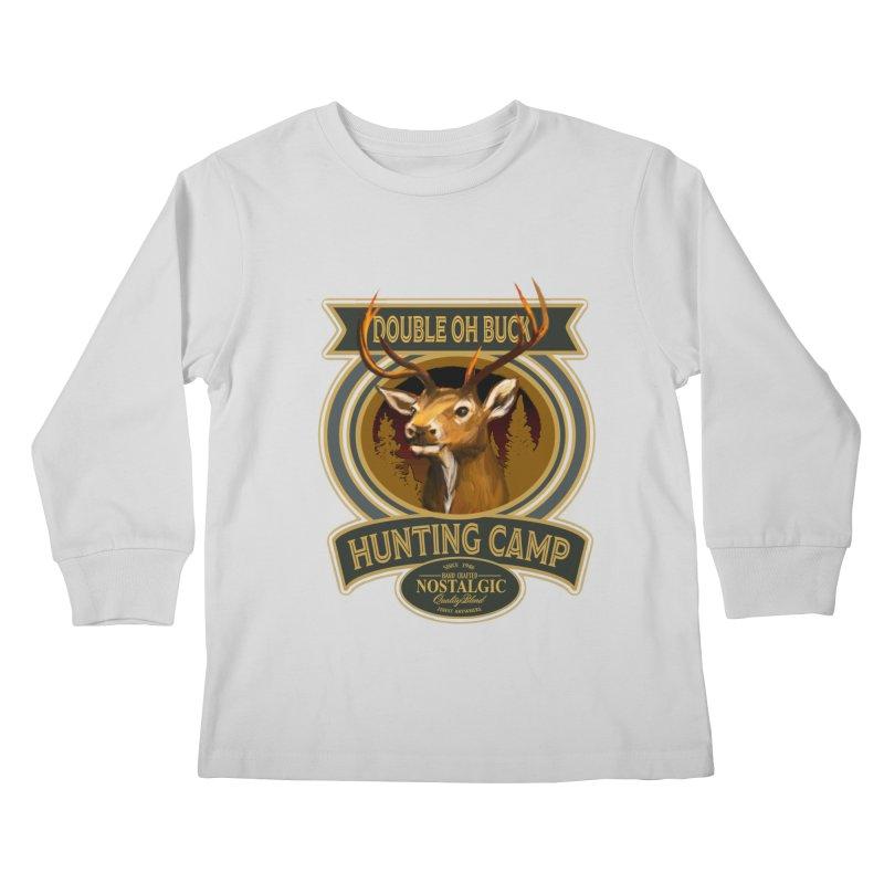 Double Oh Buck Kids Longsleeve T-Shirt by psweetsdesign's Artist Shop